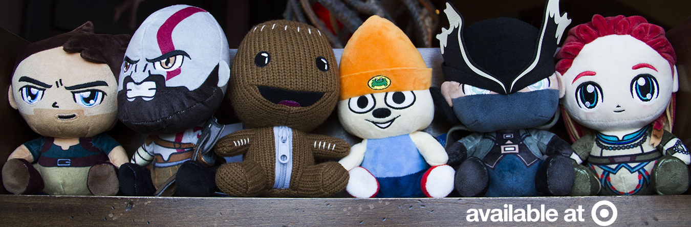 The Stubbins Plush Officially Licensed Figures From Sony And Capcom